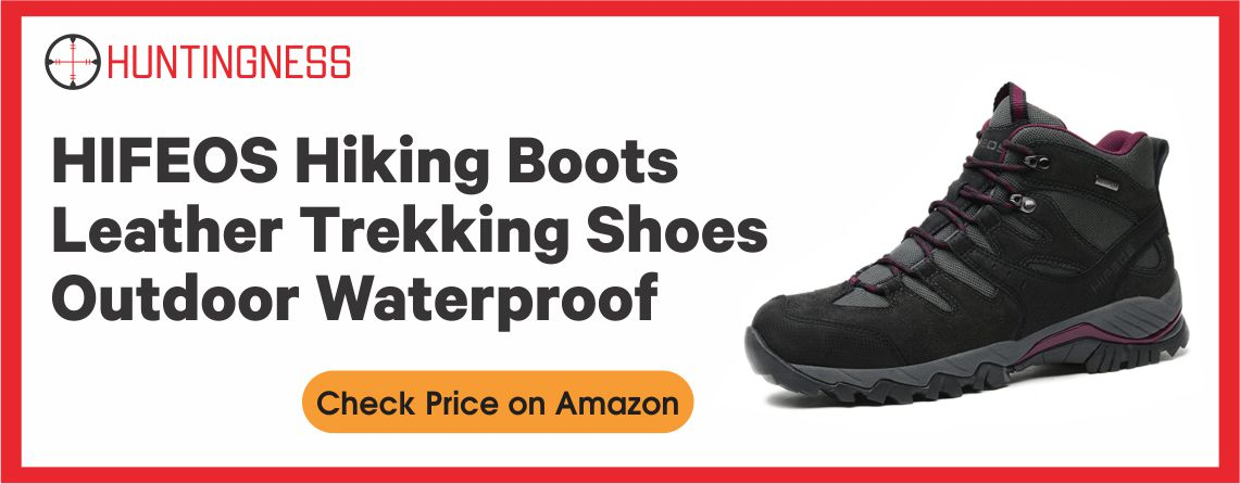 HIFEOS - Best Waterproof Hunting Boots for Warm Weather