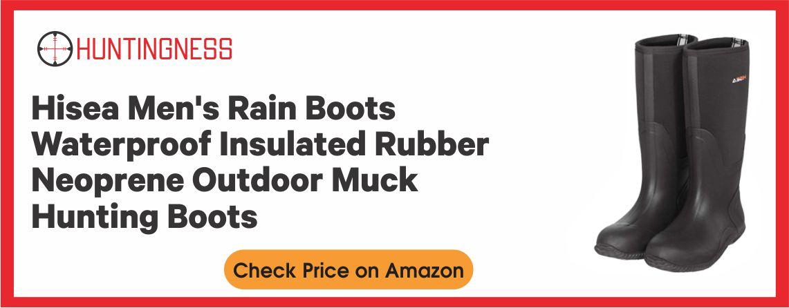 HISEA Outdoor - Best Waterproof Hunting Boot