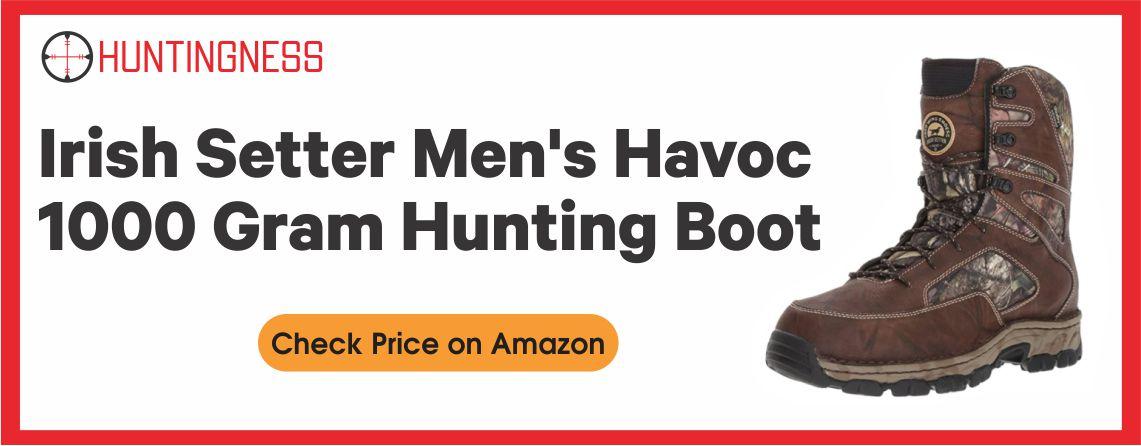 Irish Setter Havoc XT WP - Best 1000 Gram Hunting Boot