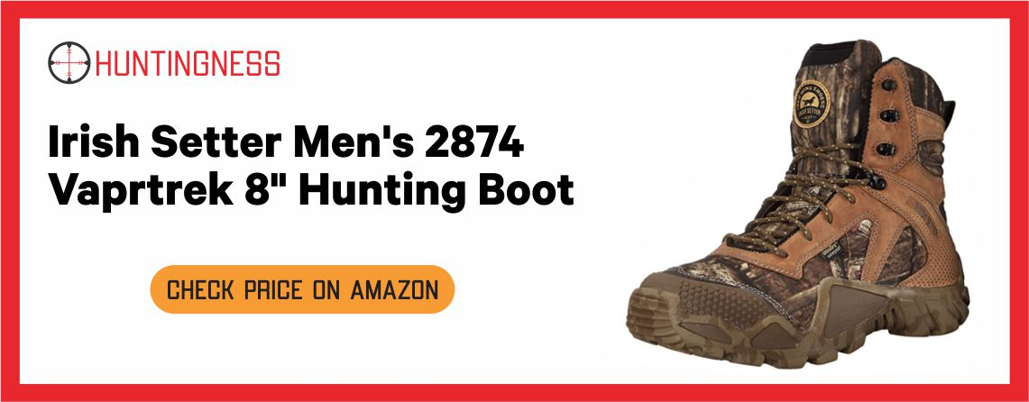 Irish Setter Men's 2874 - Best Hunting Boots for Warm Weather