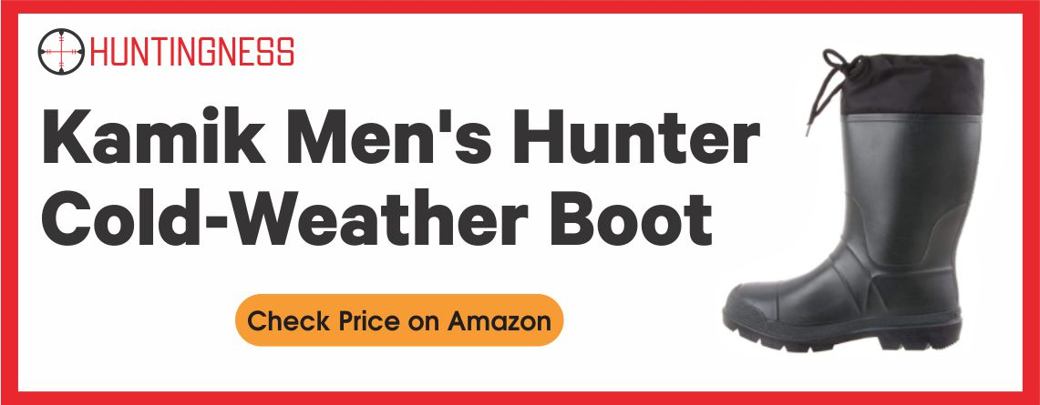 Kamik Men's - Best Hunting Cold Weather Boots