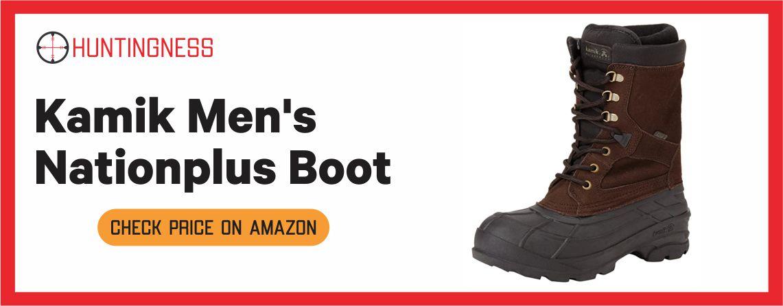 Kamik Men's Nationplus - Best Waterproof Hunting Boots