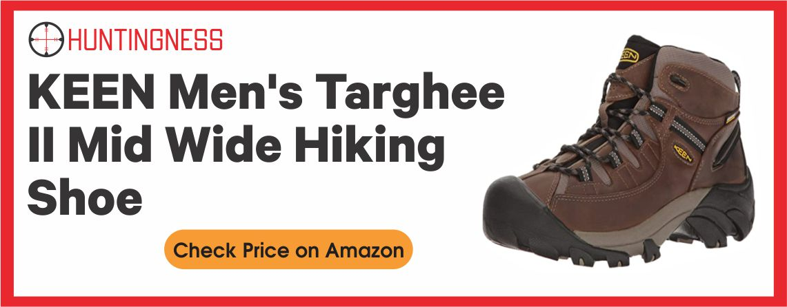 Keen Targhee II - Best Budget Hunting Boots for Wide Feet