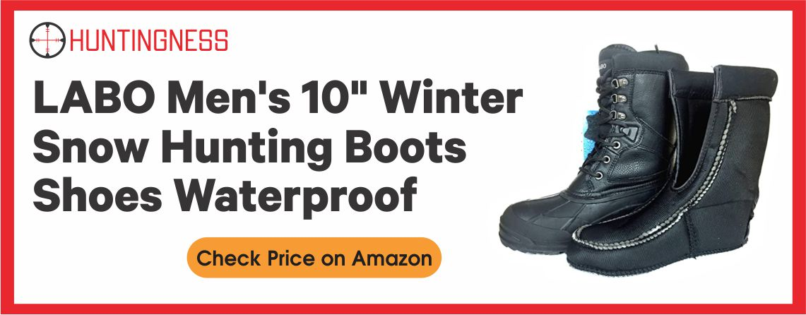 LABO Men's Brown10 - Best Winter Hunting Boots