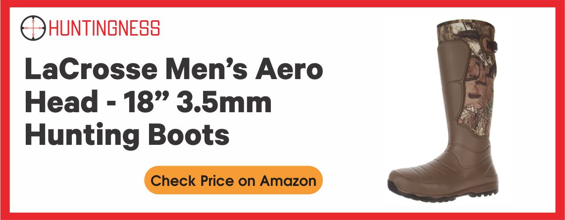 "LaCrosse Men's AeroHead - 18"" 3.5mm Hunting Boots"