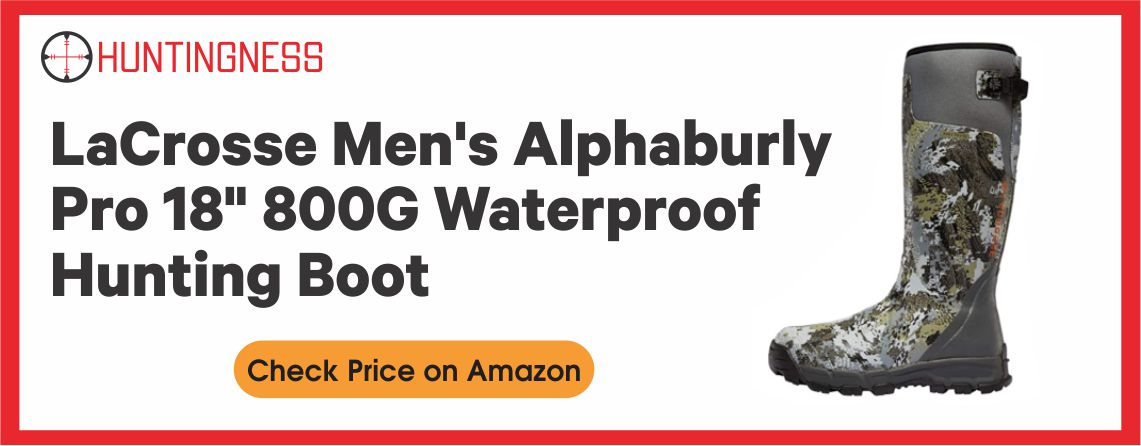 LaCrosse Men's Alphaburly - Best Pro Hunting Boots