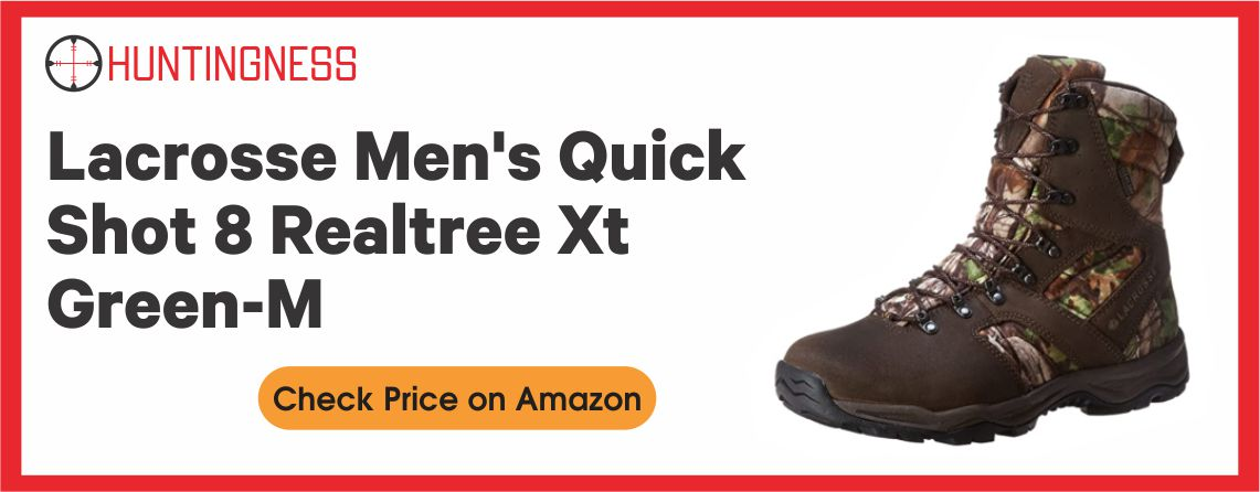 Lacrosse Men's Quick Shot 8 - Realtree Xt