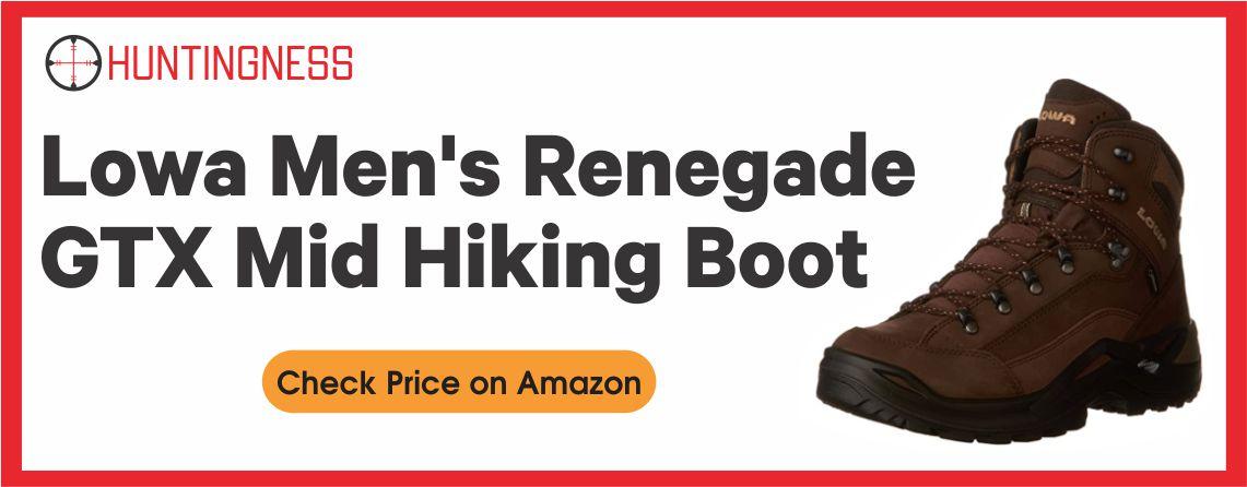 Lowa Men's Renegade - Best GTX Mid Hiking Boots
