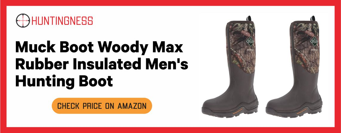 Muck Boot Woody Max Rubber - Best Hunting Boots for Men