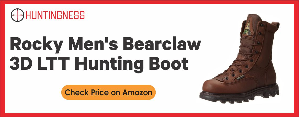 Rocky Men's Bearclaw - Best 3D LTT Hunting Boots