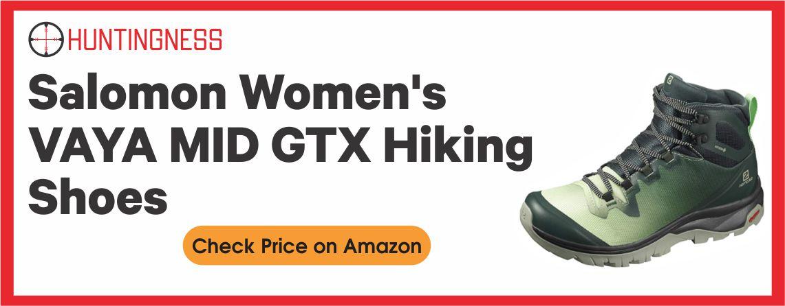 Salomon Vaya Mid - Best Women Hunting Hiking Boots
