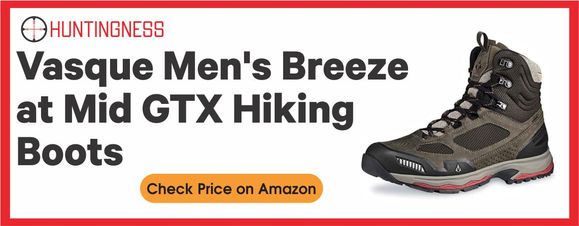 Vasque Breeze AT Mid- Best Hunting Boot for Hiking