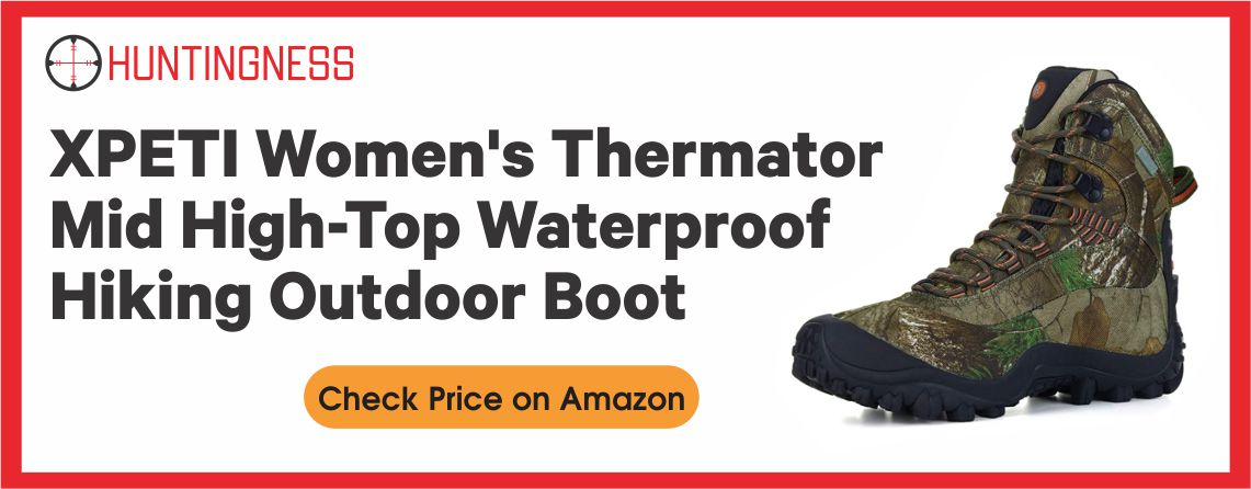 XPETI Women's Thermador - Best Waterproof Hunting Boots