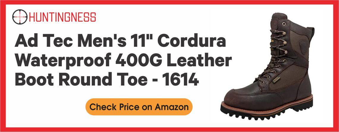 Ad Tec Men's 11″ - Cordura Waterproof Hunting Boot