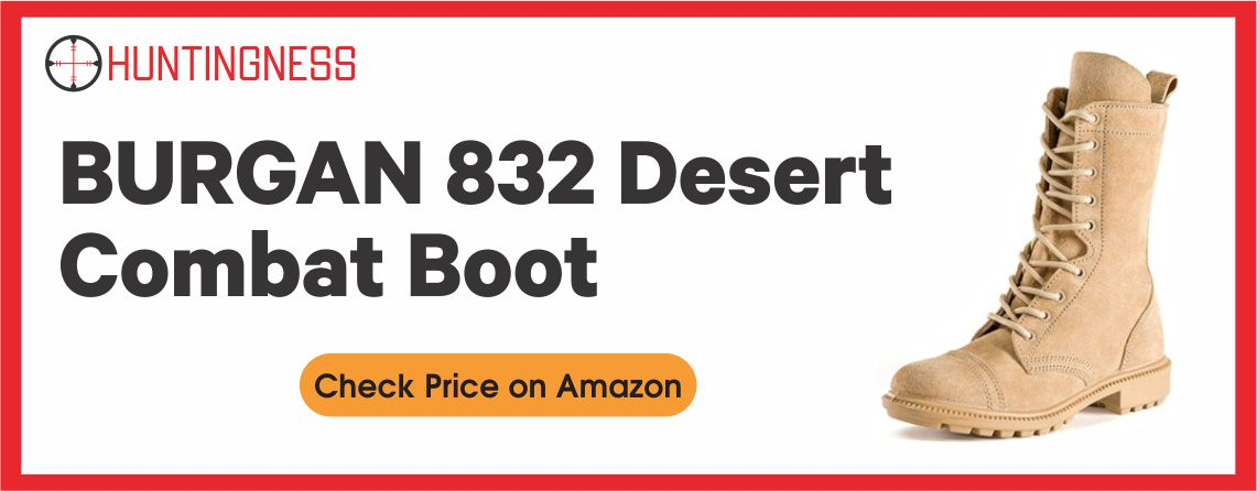 BURGAN 832 - Best Desert Hunting Boot