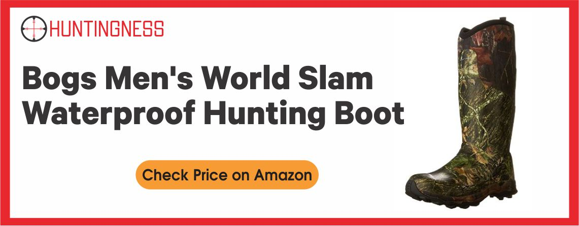 Bogs Men's World Slam - Best Waterproof Hunting Boots