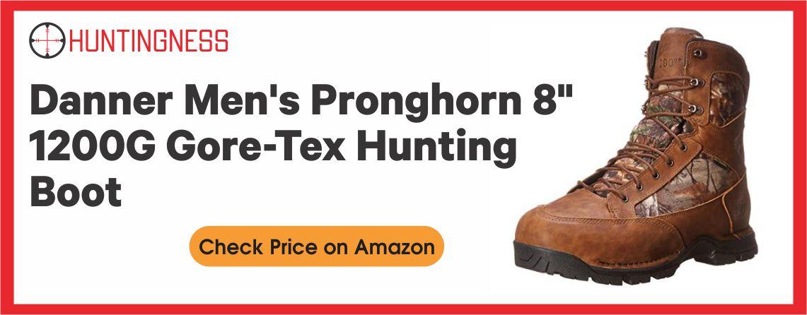 Danner Men's Pronghorn - Best 1200G Hunting Boots