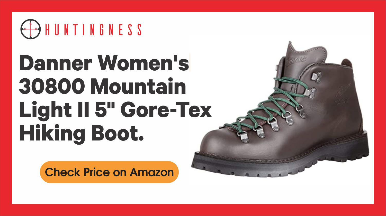 "Danner Women's 30800 Mountain Light II 5"" Gore-Tex Hiking Boot."