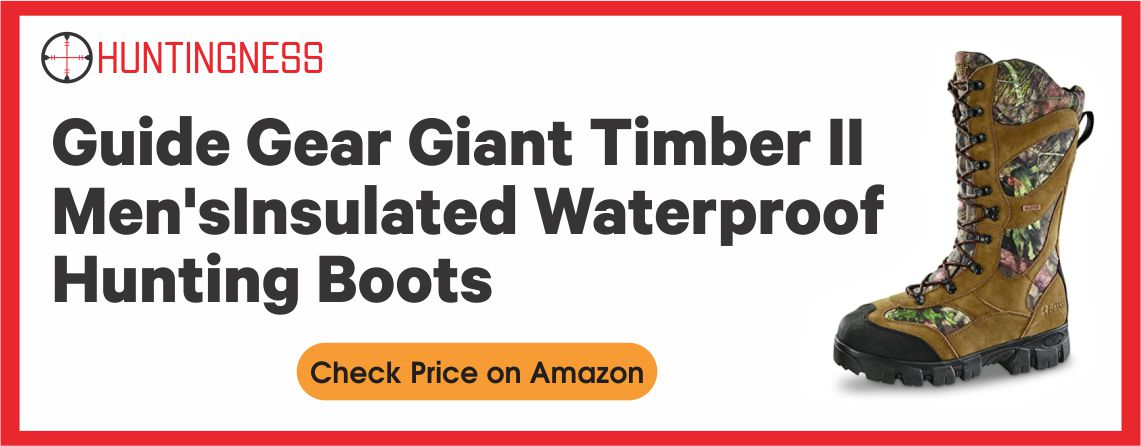 Guide Gear Giant Timber II - Men's Hunting Boot