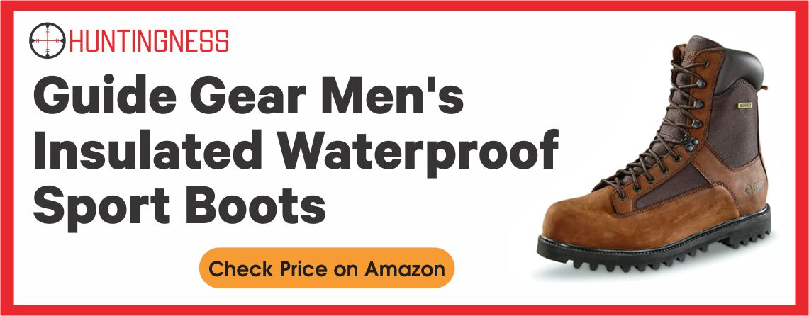 Guide Gear Men's - Best Insulated Waterproof Boot