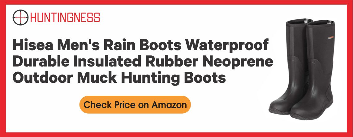 HISEA Outdoor - Best Muck Hunting Boot