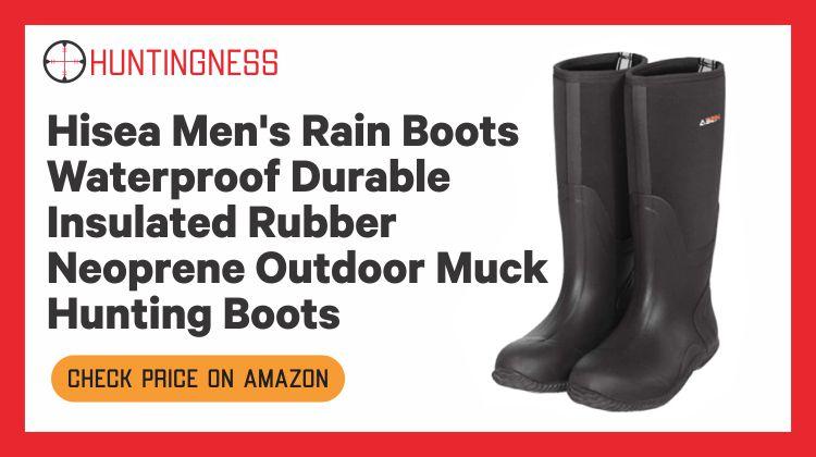 HISEA Outdoor - Best Muck Hunting Boots