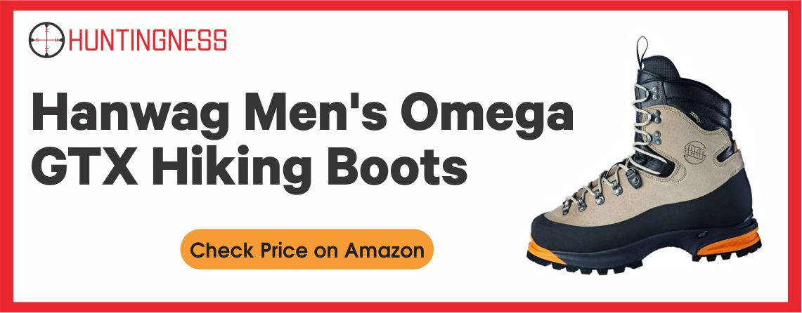 Han Wag Omega GTX - Best Hunting Boot for Alaska
