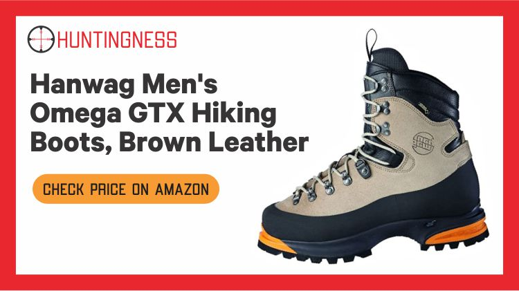 Han Wag Omega GTX - Best Hunting Boots for Alaska