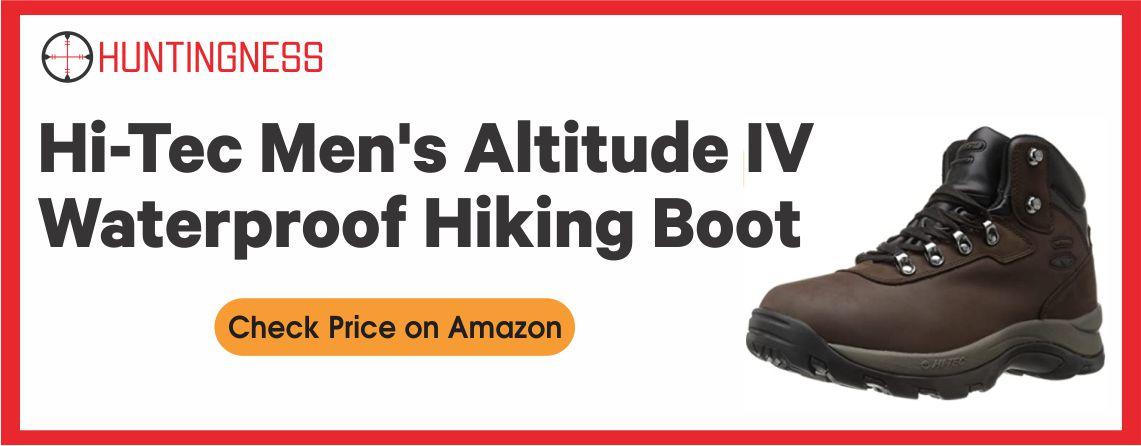 Hi-Tec Men's Altitude IV - Waterproof Hiking Boots