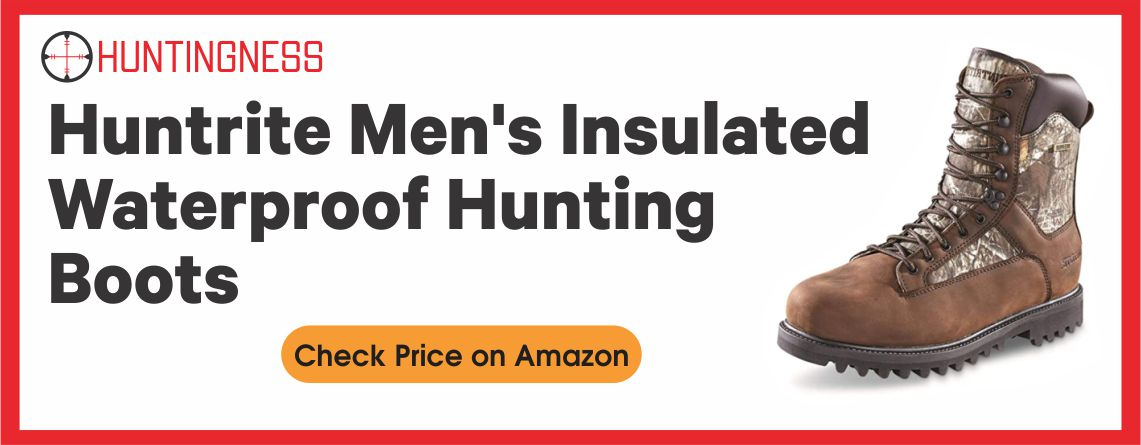 Huntrite Men's - Insulated Hunting Boots