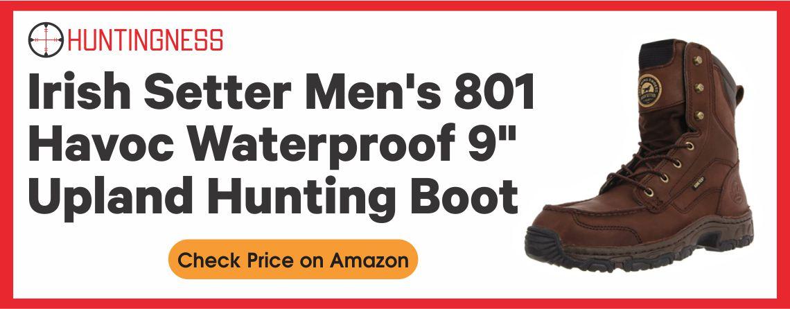 Irish Setter Men's 801 - 9 Upland Hunting Boots