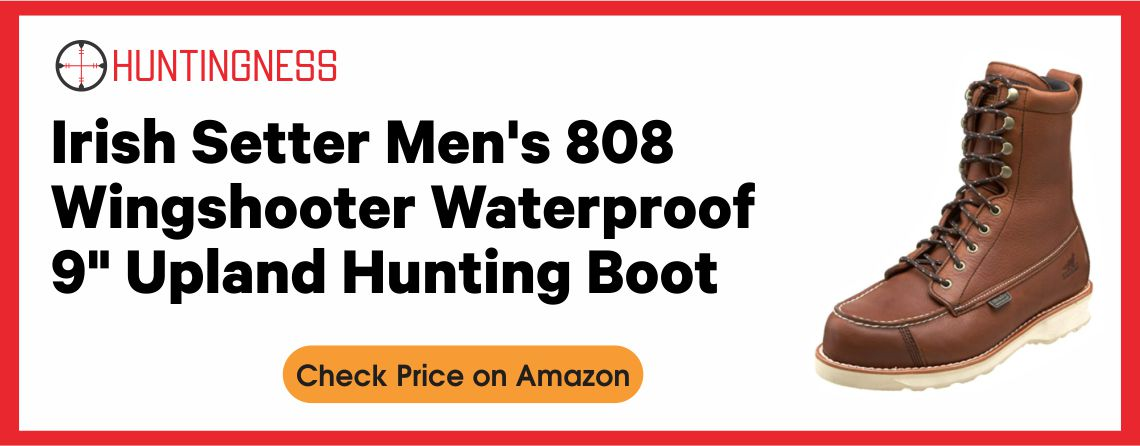 Irish Setter Wingshooter - Best Upland Hunting Boot