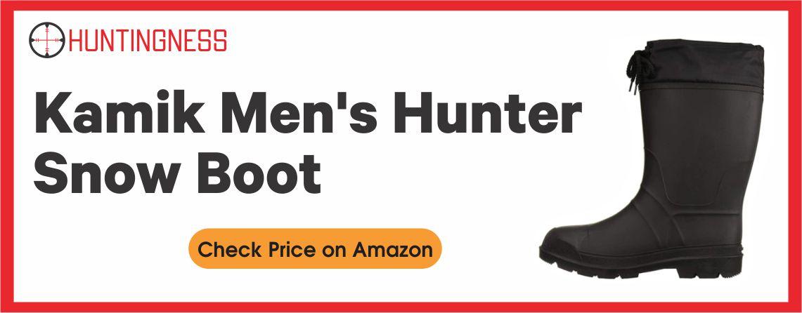 Kamik Men's - Best Snow Hunting Boot