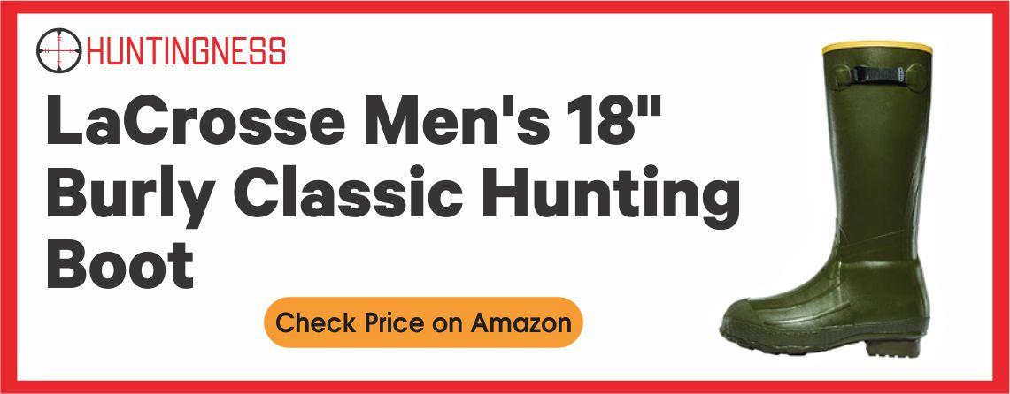 LaCrosse Men's 18 - Burly Classic Hunting Boot