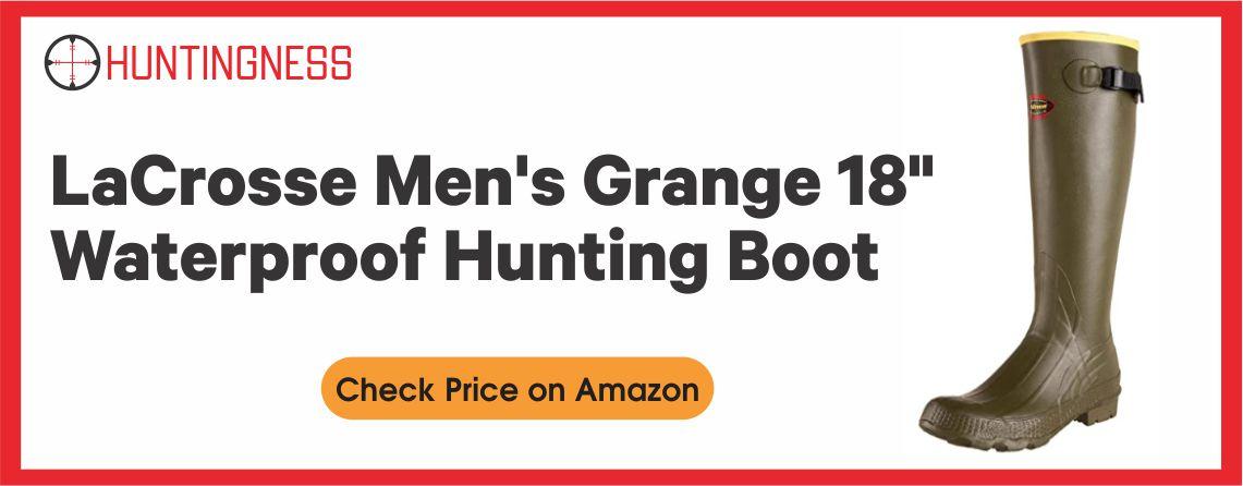 """LaCrosse Men's - Best Grange 18"""" Hunting Boot"""