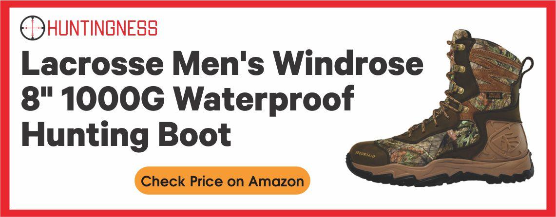Lacrosse Men's Windrose - Waterproof Hunting Boot