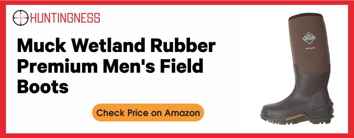 Muck Wetland Rubber - Premium Men's Field Boots