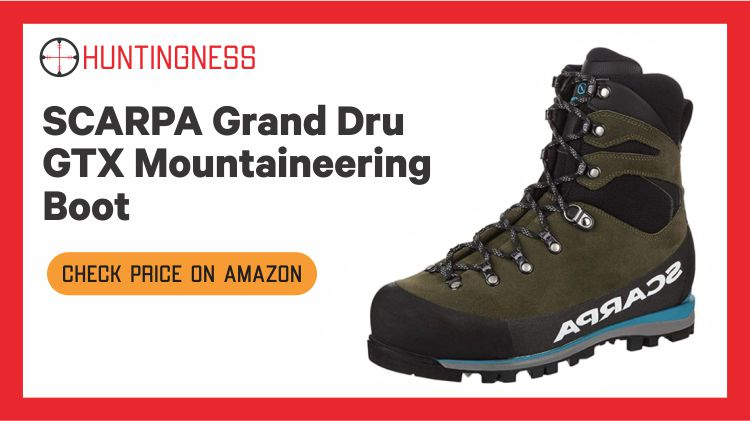 Scarpa Grand - Dru GTX Mountaineering Boot