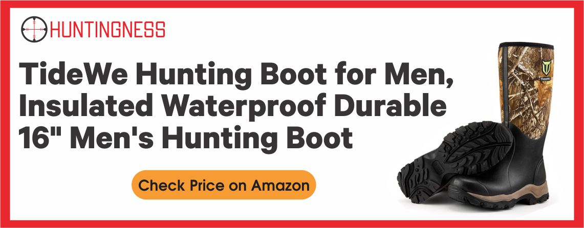TIDEWE - Best Insulated Hunting Boot
