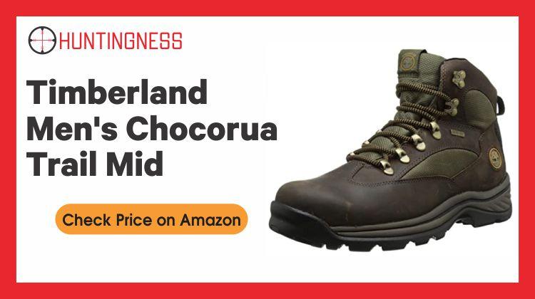 Timberland Men's Chocorua - Best Hunting Boots for Plantar Fasciitis