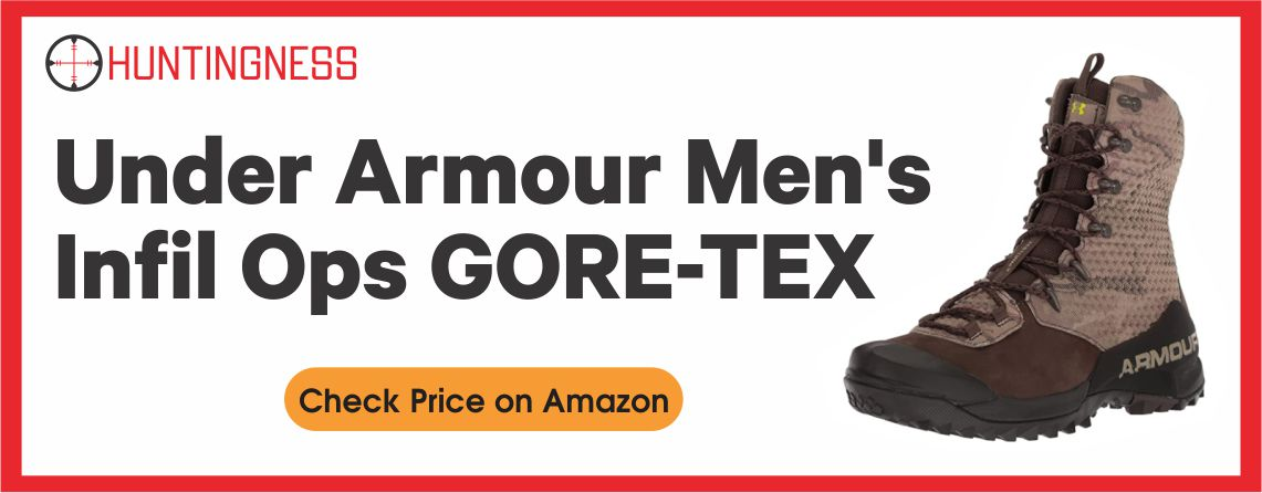 Under Armour Men's - Infil Ops GORE-TEX Boots