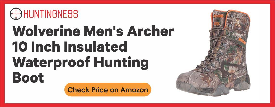 Wolverine Archer Best Waterproof Hunting Boot Under 100