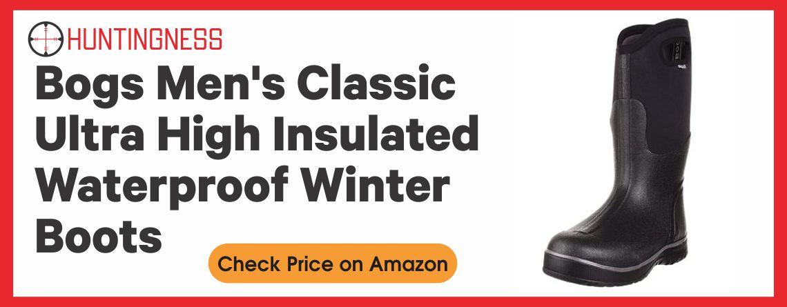 Bogs Men's Classic Ultra High Insulated Waterproof Winter Boots