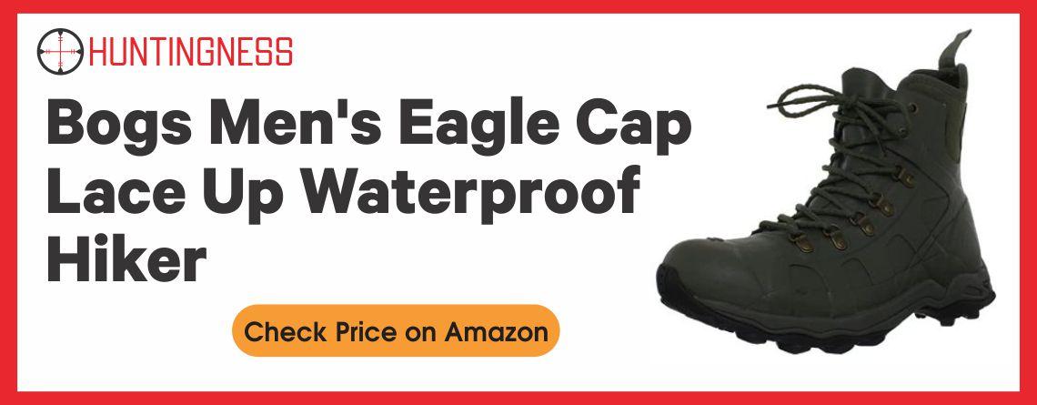 Bogs Men's Eagle Cap Lace Up Waterproof Hiker