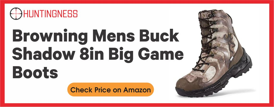 Browning 8″ Buck Shadow Men's Hunting Boots