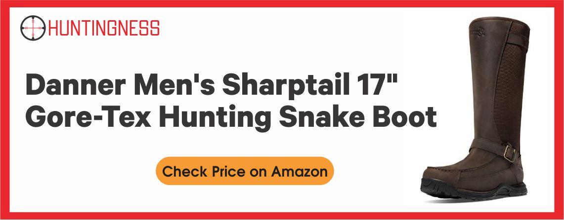 Danner Sharptail Gore-Tex - Best Snake Hunting Boot