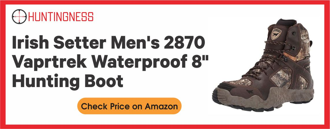 Irish Setter Men's 2870 Vaprtrek Waterproof Hunting Boot