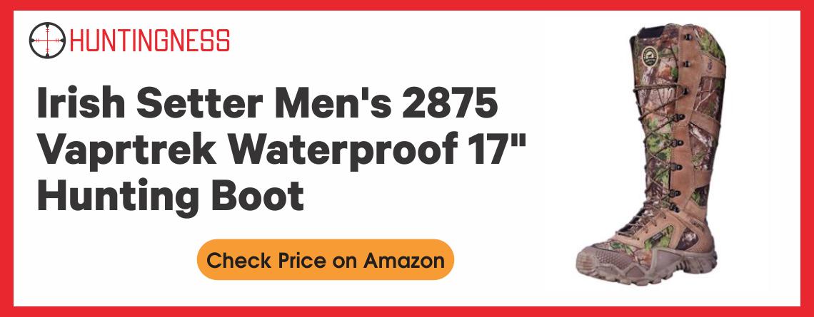 "Irish Setter Men's 2875 Vaprtrek Waterproof 17"" Hunting Boot"