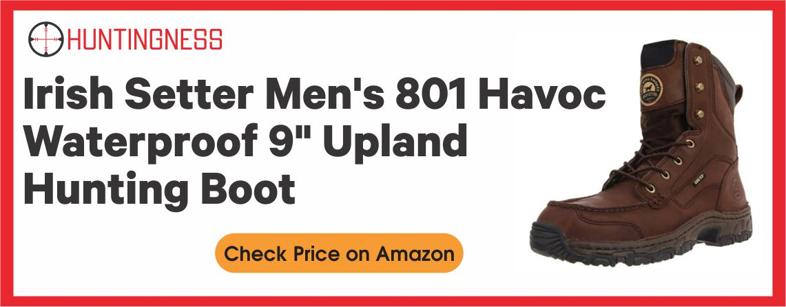 Irish Setter Water Resistant - Havoc 801Upland Hunting Boot