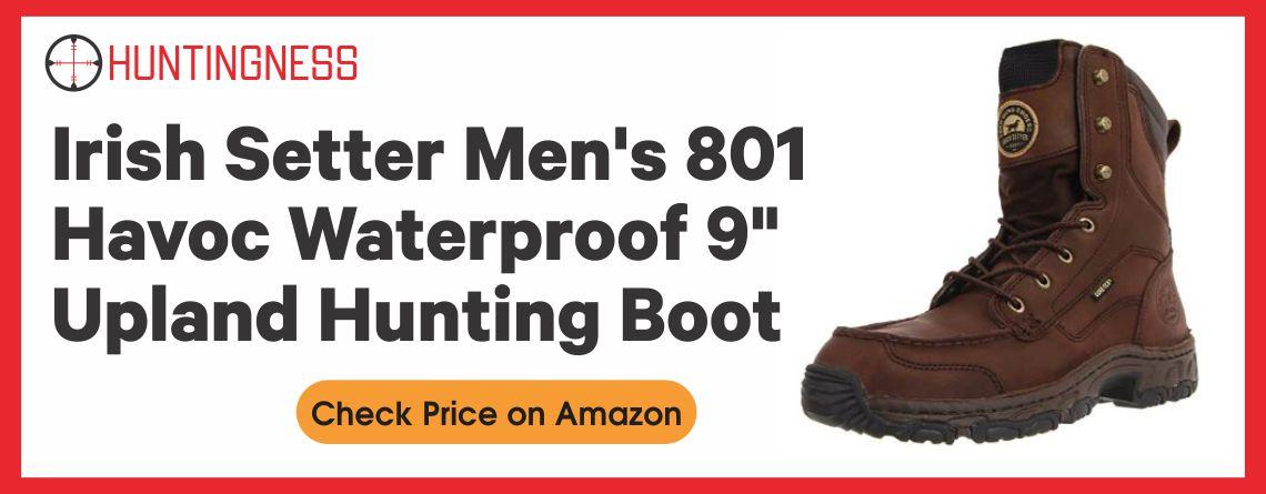 Irish Setter Men's 801 Havoc Waterproof 9 Upland Hunting Boot